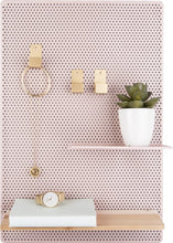Afbeelding in Gallery-weergave laden, Memo board, Perky Mesh - iron light pink