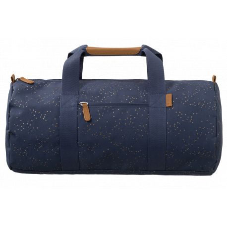 Fresk, weekend bag - indigo dots
