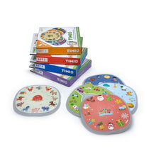 Afbeelding in Gallery-weergave laden, Timio, educatieve disc pack - set 4