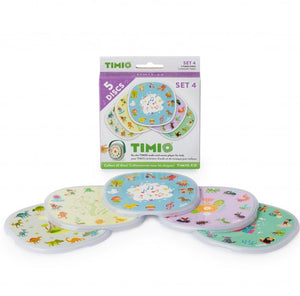 Timio, educatieve disc pack - set 4