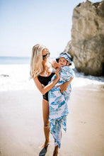 Afbeelding in Gallery-weergave laden, Little Unicorn, swaddle - surf