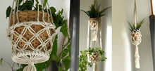 Afbeelding in Gallery-weergave laden, Pura Bali, macramé plantenhanger - single