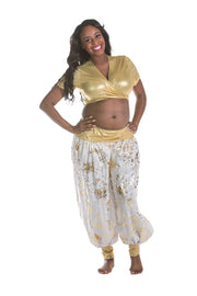 Belly Dance Top and Pants Set |