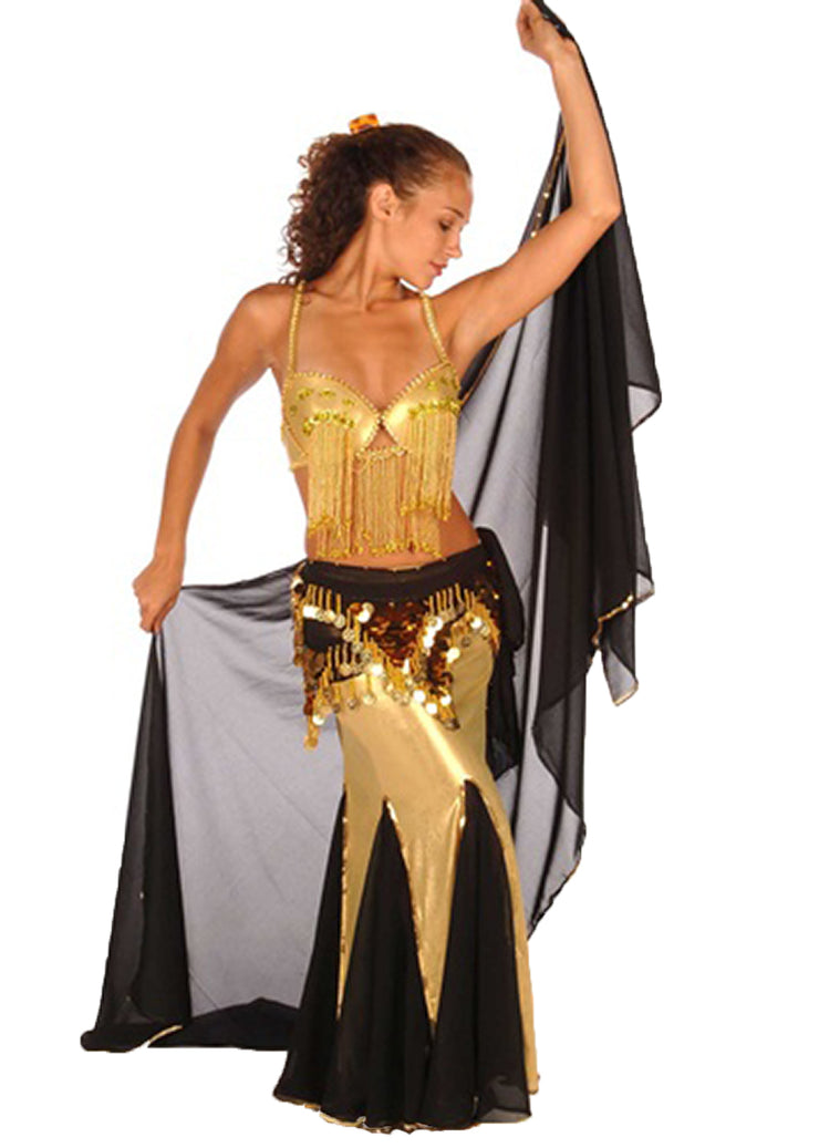 Belly Dance Bra and Skirt Costume Set | FROLICK IN FRINGE