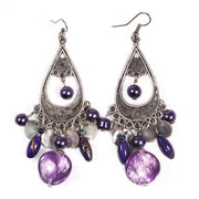 Belly Dance Color Stone Earrings | PAISLEY TEARS
