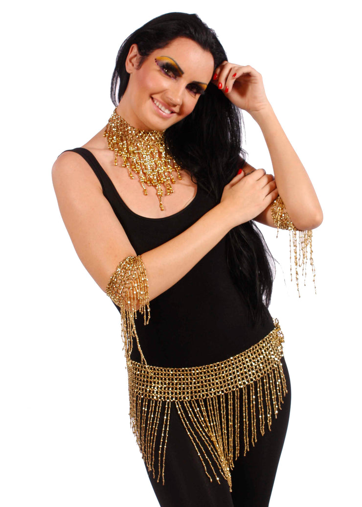 Belly Dance 4 Piece Accessory Package | Sashay and Sway