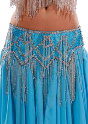 Belly Dance Professional Bra & Belt Costume Set |