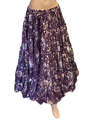 Belly Dance 25 yrd Cotton Skirt |