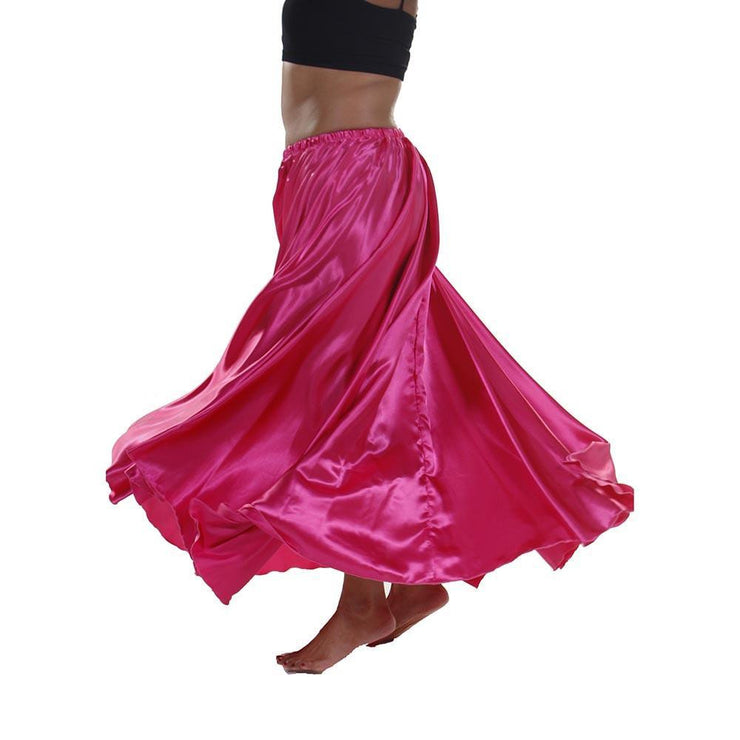 Belly Dance 10-Yards Satin Full Skirt |