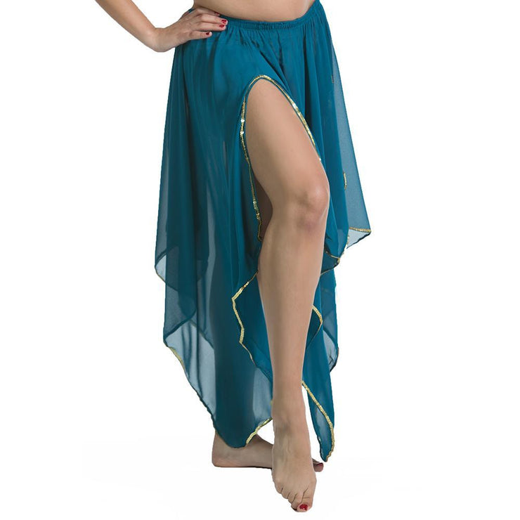 Belly Dance 4 Panel Chiffon Skirt