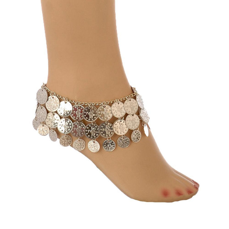 Belly Dance Anklet with Coins