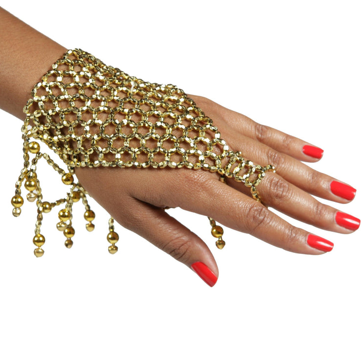Belly Dance Beaded Slave Bracelet | MESH MASRIYAT