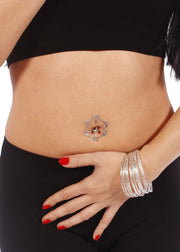 Belly Dance Belly Sticker