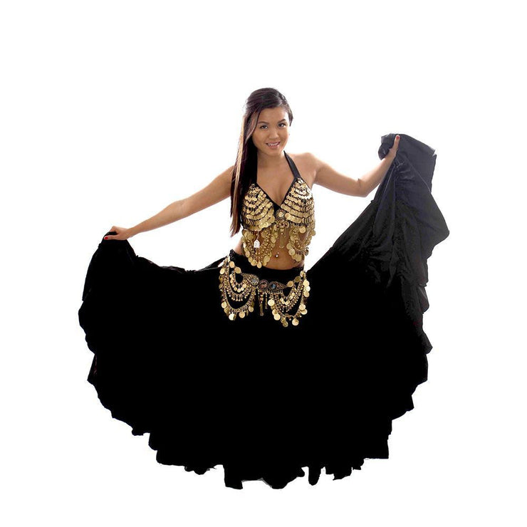 Belly Dance Bra, Belt, & Skirt Costume Set | ESSENCE ESTRELLA
