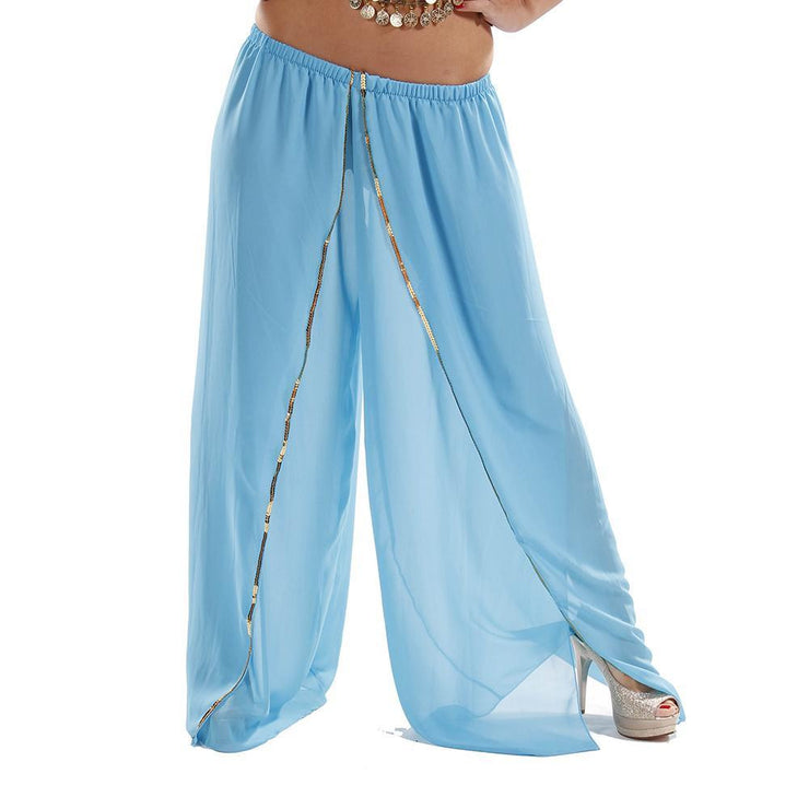 Belly Dance Chiffon Harem Pants | HAILI HAREMS
