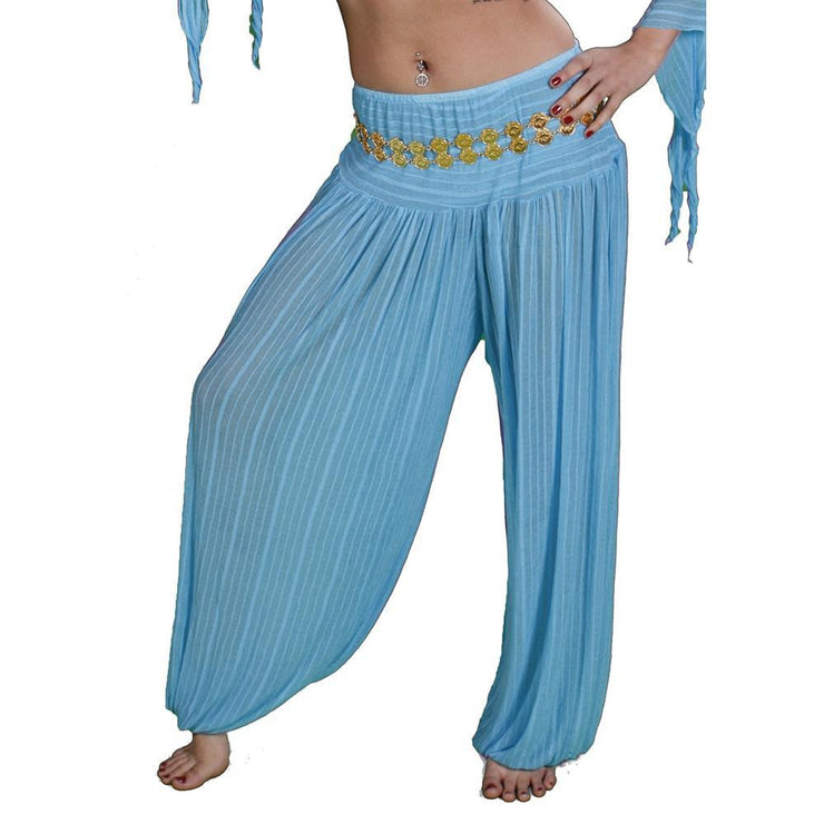 Belly Dance Chiffon Harem Pants | SHEER