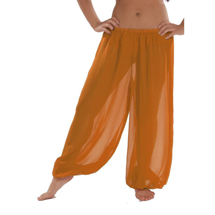 Belly Dance Chiffon Harem Pants | SHEER SHADOW