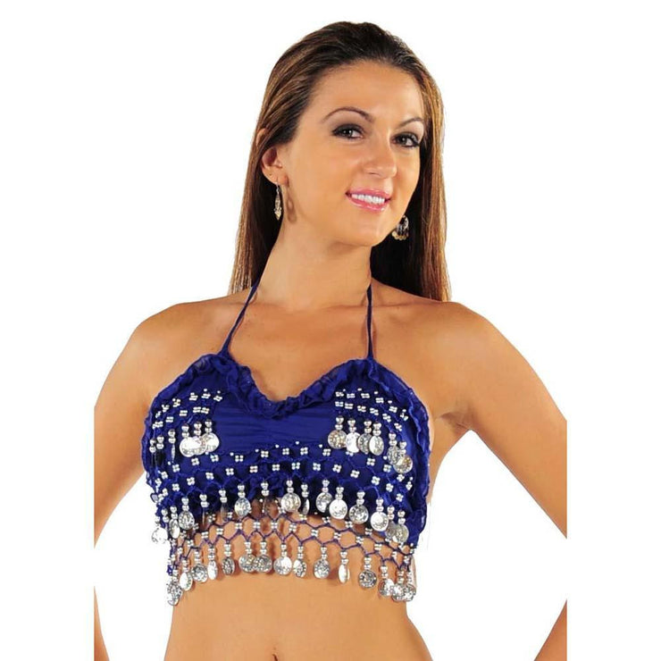 Belly Dance Chiffon Tie Top | CLUB NIGHT