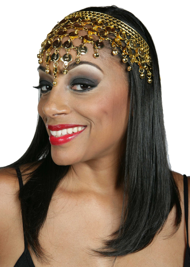 Belly Dance Coined Headband | EASTERN TIKA