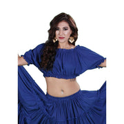 Belly Dance Cotton Balloon Top | ROMA RUFFLE