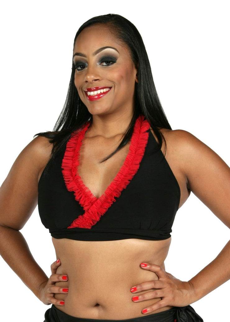 Belly Dance Eccentric Top | SHEER SHIMMY
