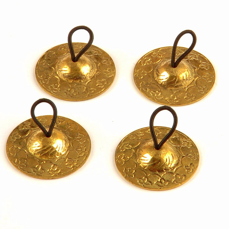 Belly Dance Gold Detailed Zill/Finger Cymbals