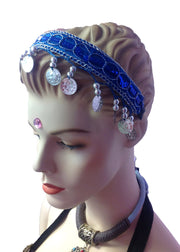 Belly Dance Head Band with Coins | CLASSIC COIND HEADBAND Classic Coins Headband