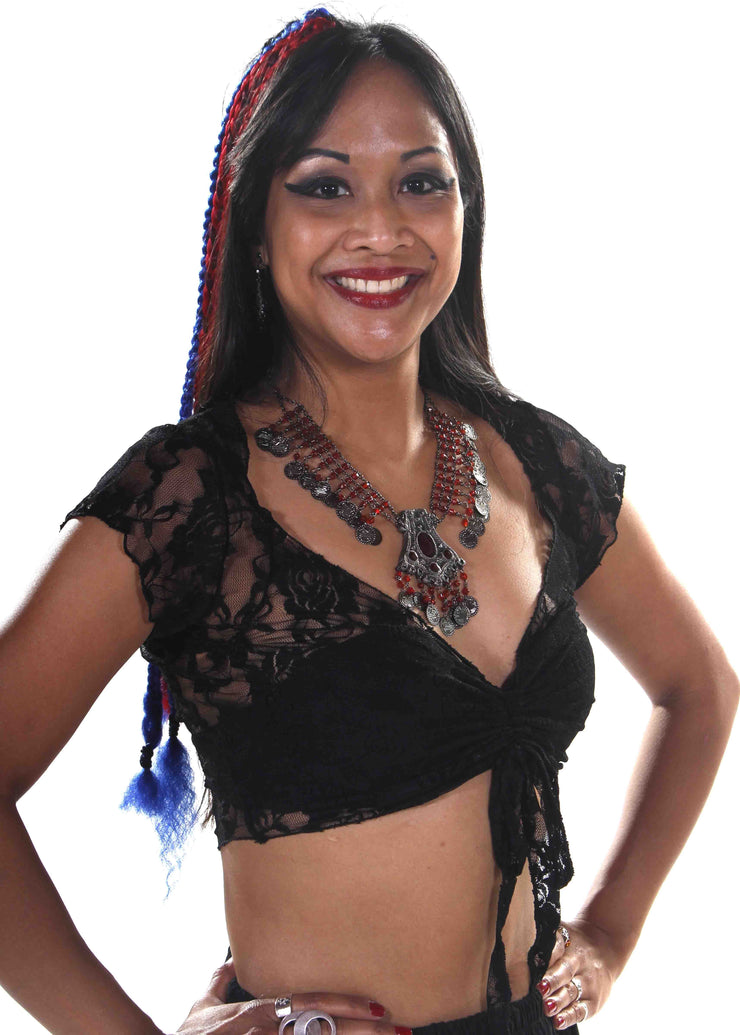 Belly Dance Lace Choli Top | LACED WITH LOVE