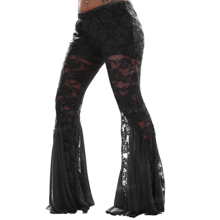 Belly Dance Lace Harem Pants |