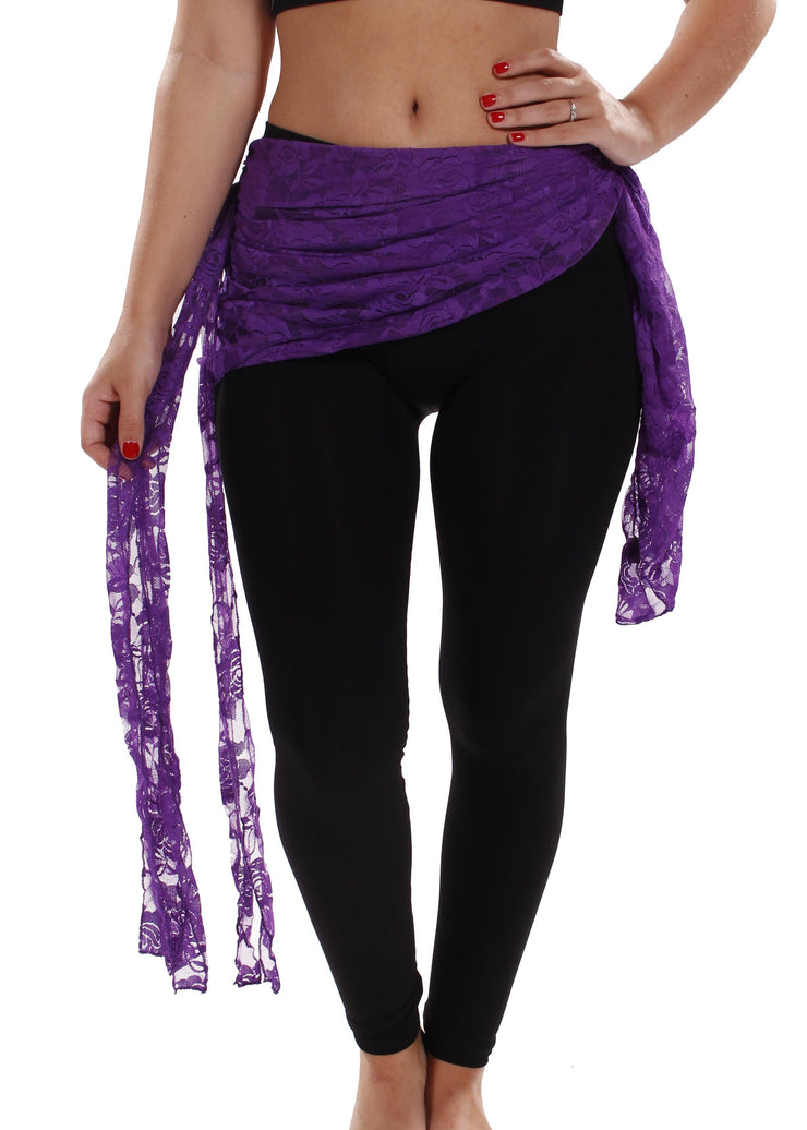 Belly Dance Lace Hip Scarf | GOTH LACE
