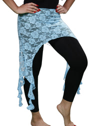 Belly Dance Lace Hip Scarf | TRIBAL FUSION DRAPE