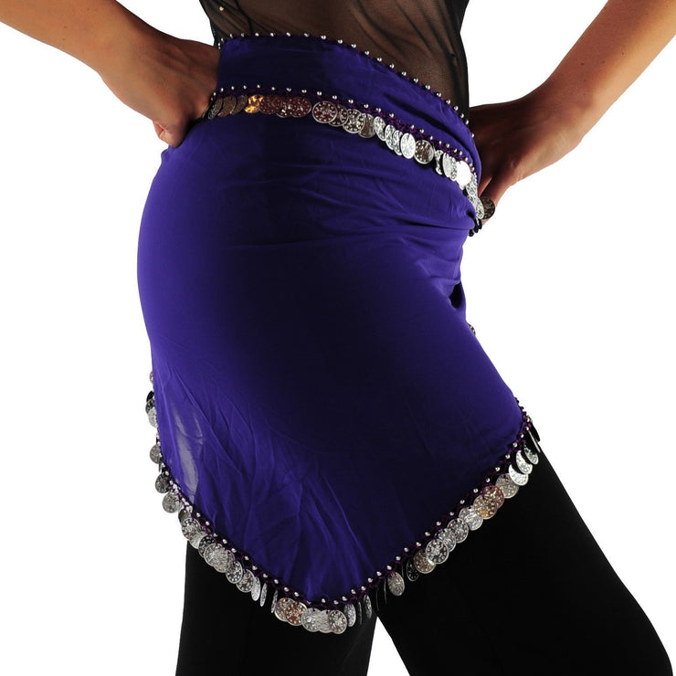 Belly Dance Long Chiffon Hip Scarf | MY EGYPTIAN