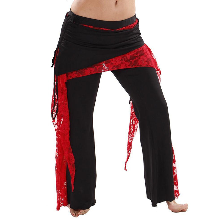 Belly Dance Lycra & Lace Harem Pants | THE JENNY J
