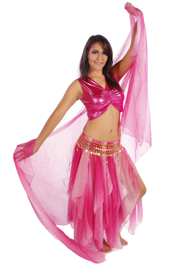 Belly Dance Lycra Tank Top | LOVE IN LIGHT