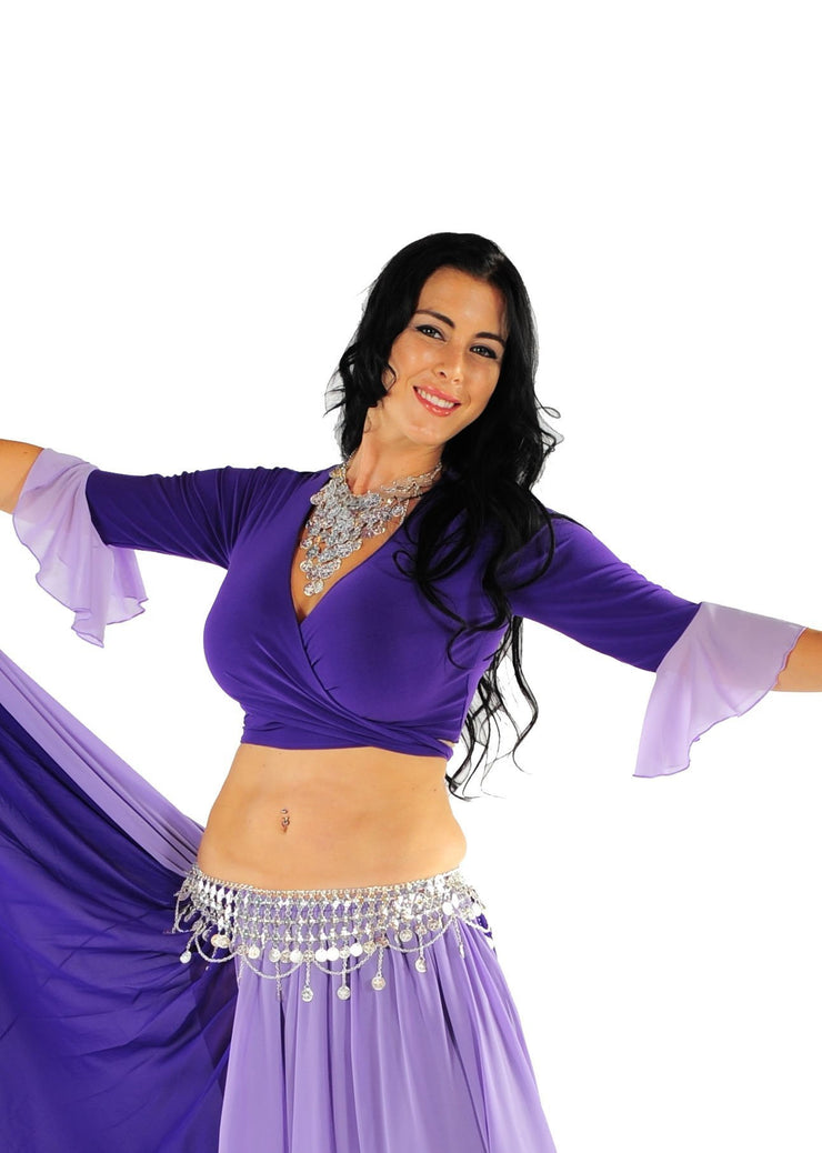 Belly Dance Lyrca Choli Top | CEBU WISH