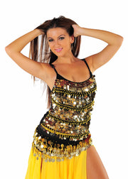Belly Dance Palette Coined Top | MASRI MOVES