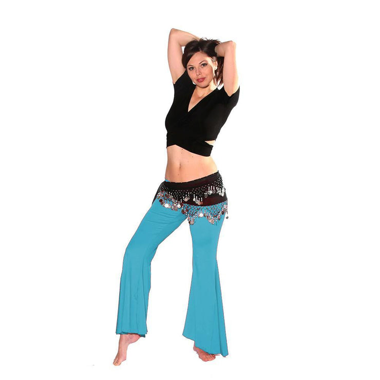 Belly Dance Pants, Choli, & Hip Scarf Costume Set | BOM BOLERO