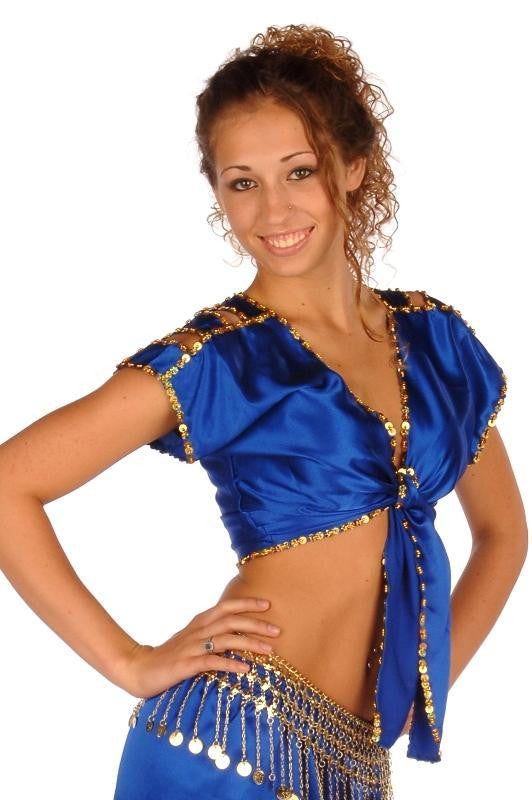 Belly Dance Satin Choli Top| LEVEL BEST