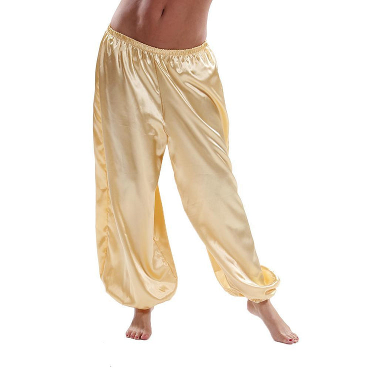 Belly Dance Satin Harem Pants |