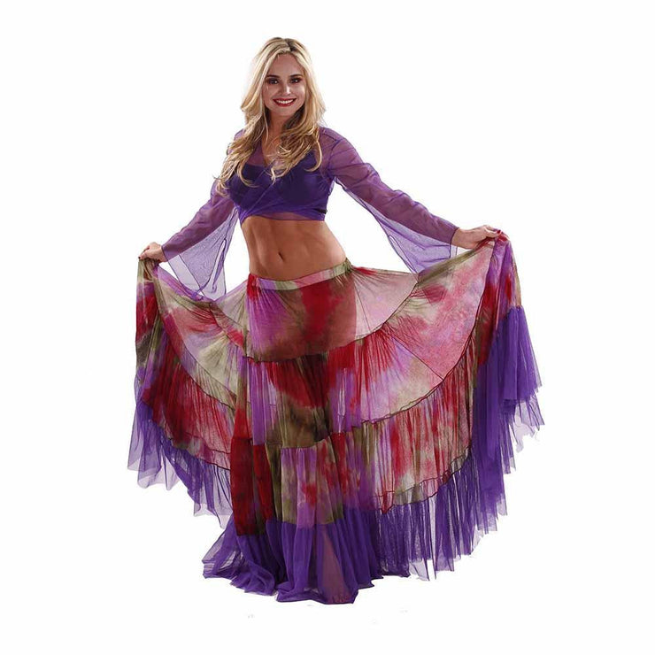 Belly Dance Sheer 25 Yard Skirt | CYPRUIA SKIRT