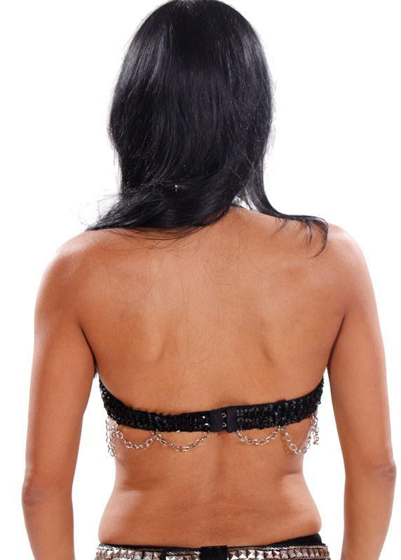 Belly Dance Shiny Tribal Bra | Raqs n' Rock Bra