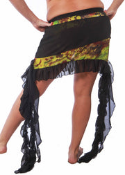 Belly Dance Short Pattern Skirt | URBAN SHIMMER SKIRT