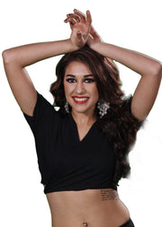 Belly Dance Short-Sleeve Choli Top | CHOLI BASICS