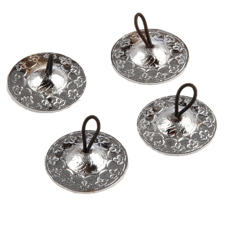 Belly Dance Silver Detailed Zill/Finger Cymbals