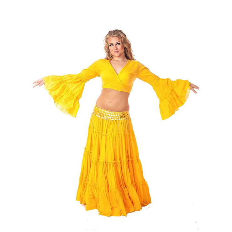 Belly Dance Skirt, Choli, & Belt Costume Set | BELLED DREAMS