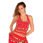 Belly Dance Stretchy Lycra Halter Top | FESTIVE