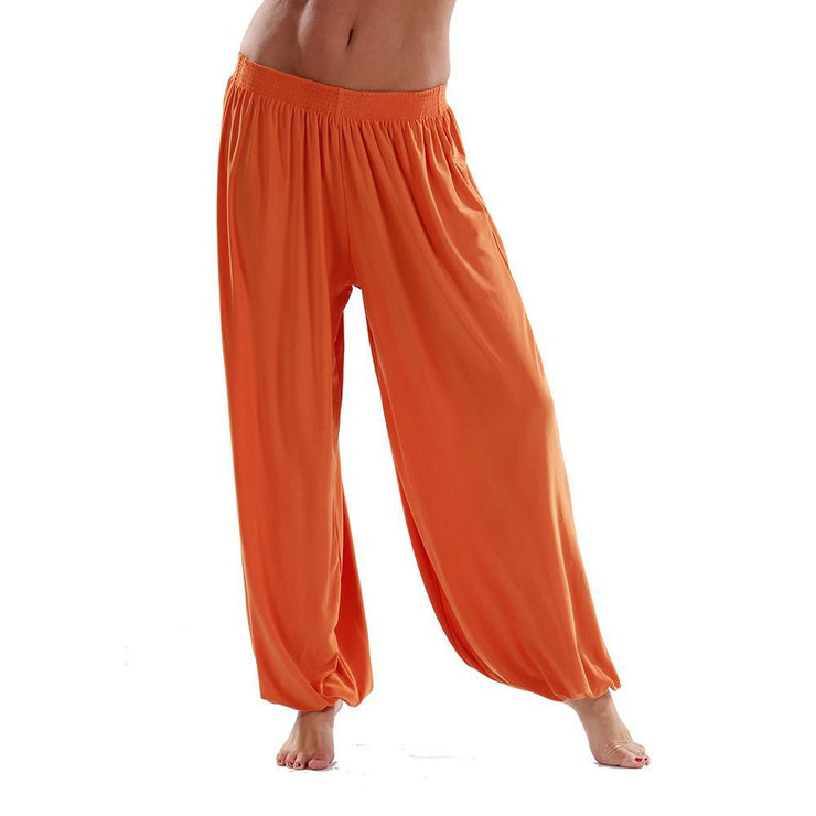 Belly Dance Stretchy Lycra Harem Pants | HELIPE