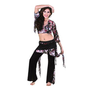 Belly Dance Top & Pants Costume Set | RAQS RUA