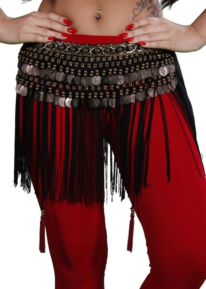 Belly Dance Tribal Belt with Fringe | TRIBAL FRINGE