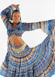 Belly Dance Tribal Design Top | FELA ROMANI